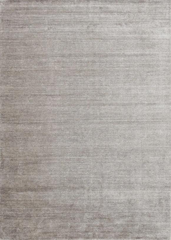 Laagpolig vloerkleed Plain Dust grijs