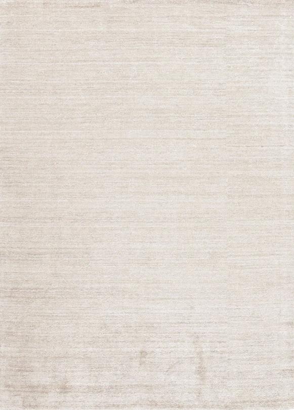 Laagpolig vloerkleed Plain Dust Ivory