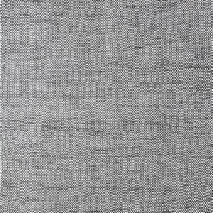 Laagpolig vloerkleed Matta Scandi zwart/wit