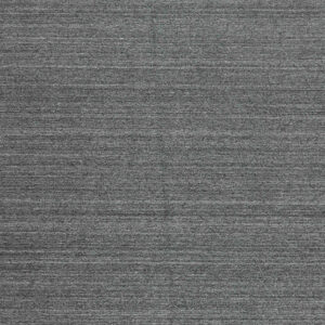 Laagpolig vloerkleed Nouveau Plain donkergrijs