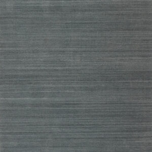 Laagpolig vloerkleed Artic Plain donkergrijs