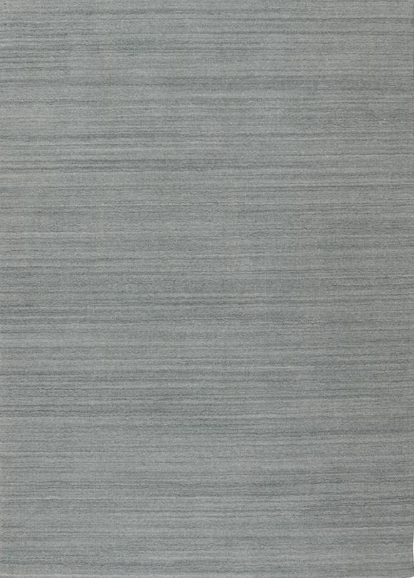 Laagpolig vloerkleed Artic Plain lichtgrijs