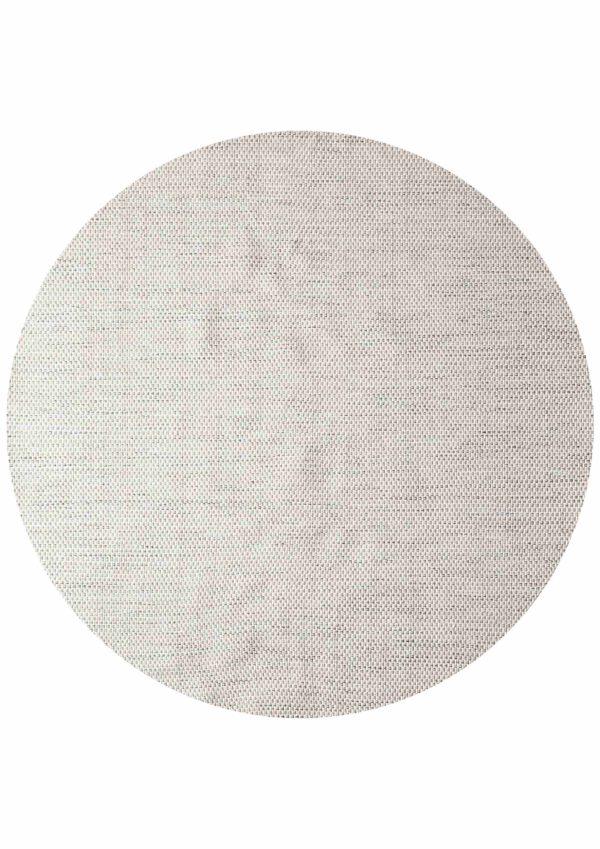 Laagpolig vloerkleed Matta Scandi grijs/wit 200 rond